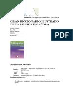 Gran Diccionario Ilustrado de La Lengua Española