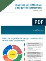 Effective Organizations Structural Design[1]