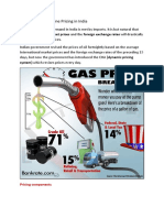 Gasoline Pricing Economics