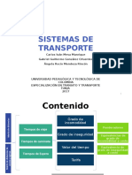 Usuario Urbano Sistemas de Transporte 2017-09-08