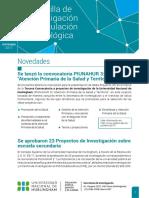 Sept 2017- Gacetilla de Investigación y Vinculación Tecnológica #7