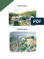 Ejemplo Comunidad Rural y Urbana