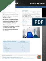 Offshore.macdermid.com Documents Resources MacDermid Erifon HD856 Issue 10 A4