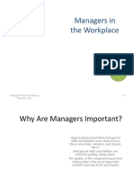 Chap 1 Managers in the Workplace