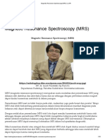 Magnetic Resonance Spectroscopy (MRS) _ JURI.pdf