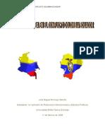 PAPEL DE LA OEA EN EL CONFLICTO COLOMBIA ECUADOR
