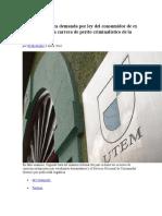 Suprema Rechaza Demanda Por Ley Del Consumidor de Ex Estudiantes de La Carrera de Perito Criminalístico de La UTEM - El Mostrador.pdf