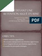CAT DEVANT UNE RETENTION AIGUË D'URINE.pptx