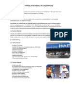 Sector Formal E Informal de Una Empresa