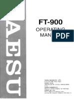 FT 900 Manual