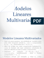 Aula - Modelos Lineares Multivariados