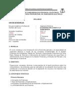 Sillabus-curso Economia Aplicada a La Ingeniería 2005