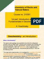 Geochemistry Introduction.ppt