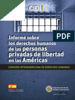 Cidh Informe Sobre Los Derechos Das Personas Privadas de Liberdade