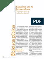 Espacios de La Hemeroteca