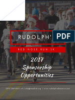 Red Nose Run 2017 Sponsorship Opportunities