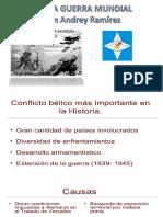 Presentación Segunda Guerra Mundial
