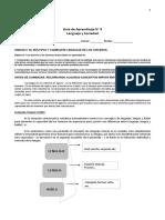 Guía 9 Variables Linguísticas - Lenguaje y Sociedad