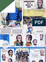 Sesquicentenario de La Batalla de Maipú - San Martín - Billiken