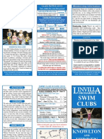 2010 Swim Club Brochure