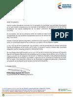 Carta Superintendencia Industria Comercio