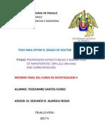 Informe Final de Investigacion V