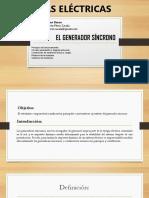 Clase 3 y 4 - El Generador Síncrono