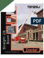 Snorkel TB126J Spec Sheet