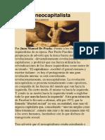 Orgullo Neocapitalista - Juan Manuel de Prada