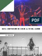 Dossiere Sexta Convencion de Circo Al Fin Del Mundo FEBRERO 2018