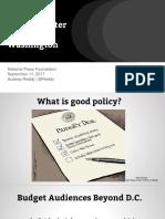 National Press Foundation - Budget 2017 - Sudeep Reddy