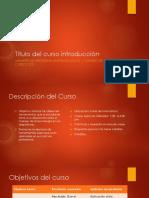 curso introducción