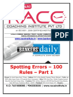Get to Know About Spotting the Error