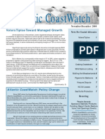 Nov-Dec 2000 Atlantic Coast Watch Newsletter