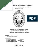 Informe Tecnologia Electronica
