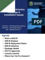 Ses3-Pres10 FAA ADS-B Surveillance Techniques