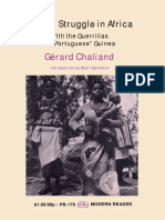 "(Modern Reader) Gerard Chaliand-Armed Struggle in Africa_ With the Guerrillas in ""Portuguese"" Guinea-Monthly Review Press (1969)"