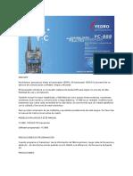 Manual Esp Yc-888