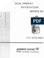 AE TB470-920 1962 Local Prepay Paystation 89