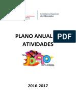 Plano Anual de Atividades 16 17 Publicar