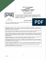 Alhambra City Council Agenda - September 11, 2017