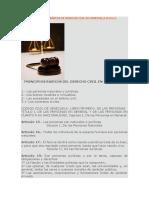 Unidad 3º Principios Básicos de Derecho Civil en Venezuela