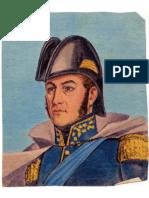 José de San Martín -Retrato (Recorte)