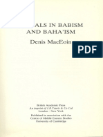 Rituals in Babism and Bahaism