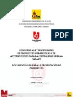 01 Documento Guia Para La Presentación de Propuestas