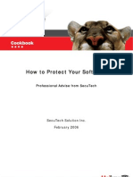 CookBook How to Protect Your Software