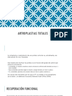 ARTROPLASTIAS TOTALES0000
