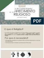 Conhecimento Religioso PPGMAT