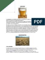 BEBIDAS ALCOHOLICAS FERMENTADAS