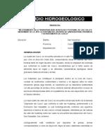 14.- Pavimentacion Fortuna - Estudio Hidrogeologico COLOR